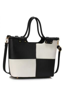 Bevásárló táska Fekete-Fehér