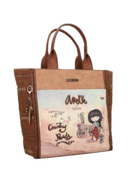 Anekke Arizona női táska két füllel, vállpánttal 33x14x33