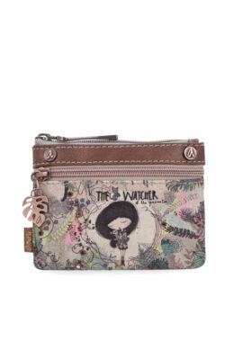 Anekke Jungle basic pénztárca cipzáras, kétrekeszes, 15x0,5x11,5cm