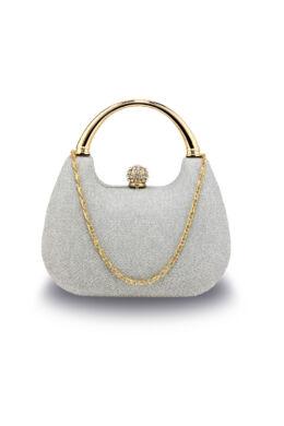 Crystal különleges alkalmi táska-ezüst