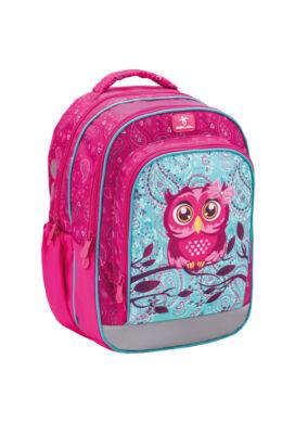 Speedy PINKY OWL merev falú iskolatáska  338-45