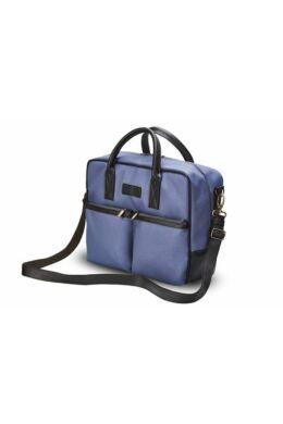 Solier S23 laptop oldaltáska -kék