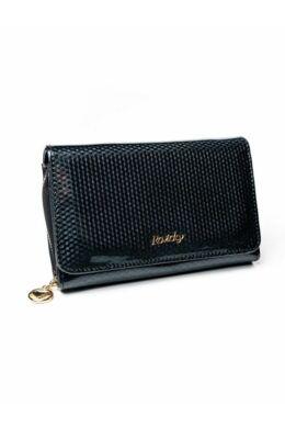 Solier SBR8806 elegáns RFID  női pénztárca -fekete