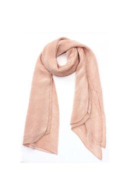 Bordás női sál-rózsaszín