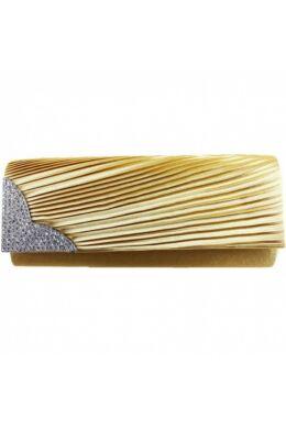 Emese L1113 alkalmi táska-arany