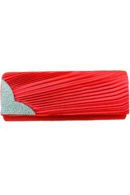 Emese L1113 alkalmi táska-piros