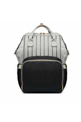 Több funkciós pelenkázó táska-fekete
