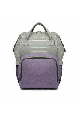 Több funkciós pelenkázó táska-lila