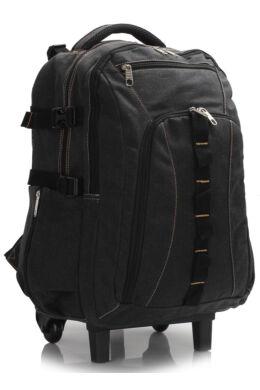 Greta gurulós hátizsák-fekete