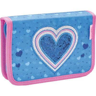 Belmil kihajtható tolltartó  Cool Bag JEANS HEART