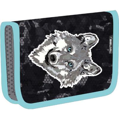 Belmil kihajtható tolltartó  Classy WOLF