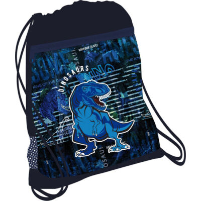 BLUE DINO hálós tornazsák 336-91