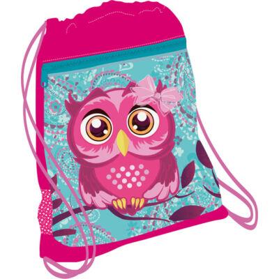 PINKY OWL hálós tornazsák 336-91