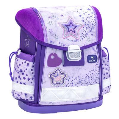 Classy SHINING STAR PURPLE iskolatáska 403-13