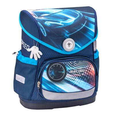 Compact RACE BLUE merev falú iskolatáska 405-41