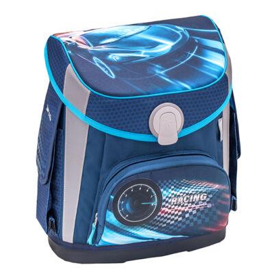 Cube RACE BLUE merev falú iskolatáska 405-47