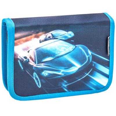 Belmil kihajtható tolltartó RACE BLUE