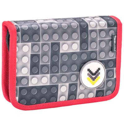 Belmil kihajtható tolltartó  Cool Bag BRICKS GREY