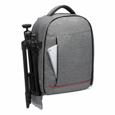 Kono vízálló, ütésálló DSLR fényképezőgép hátizsák - szürke