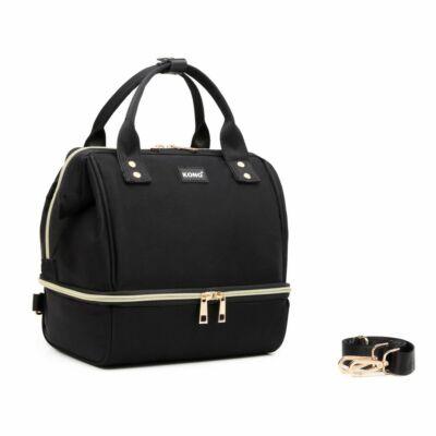 Kono Multifunkciós pelenkázó-piknik táska fekete