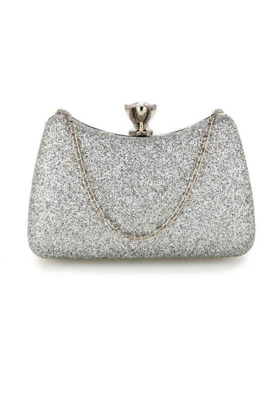 Sharon estélyi táska-ezüst