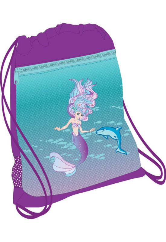 Belmil hálós és zsebes tornazsák 336-91, Purple Mermaid