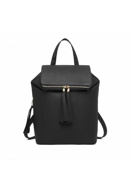 Joyce divatos hátizsák- fekete