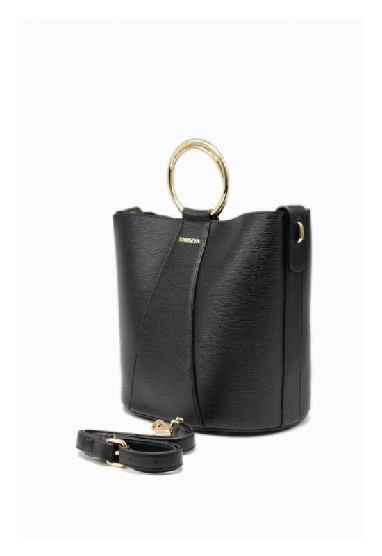 Ambre bevásárló táska-fekete
