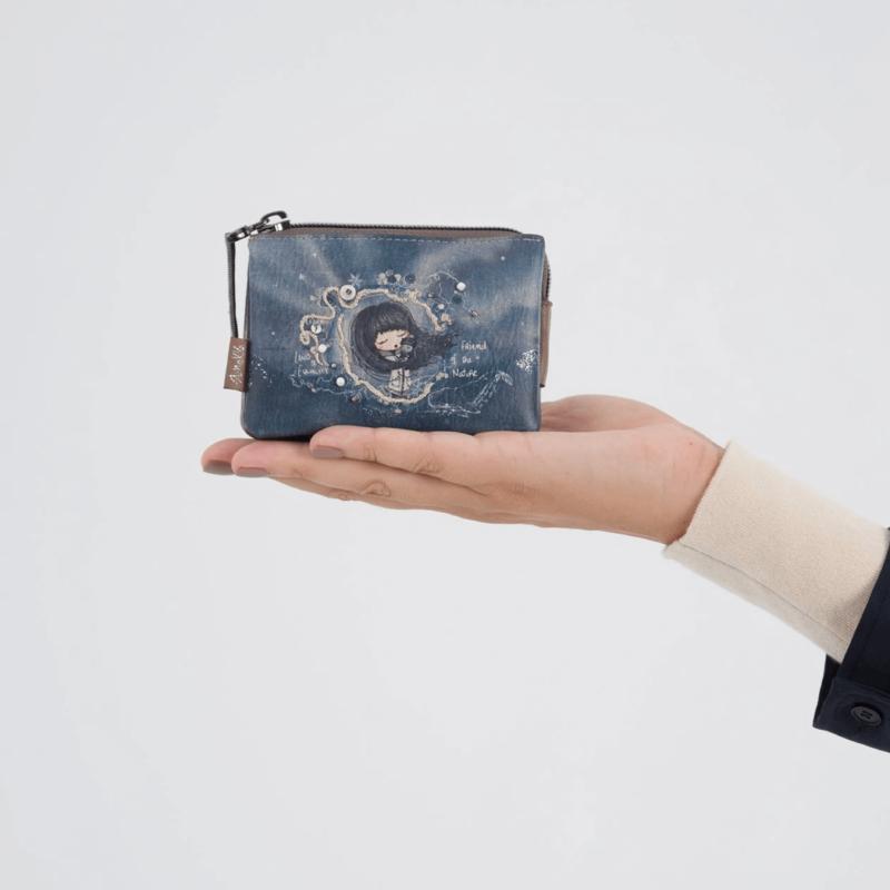 Anekke Iceland-pénztárca Háromrekeszes 11x7x1 cm 33709-010-2