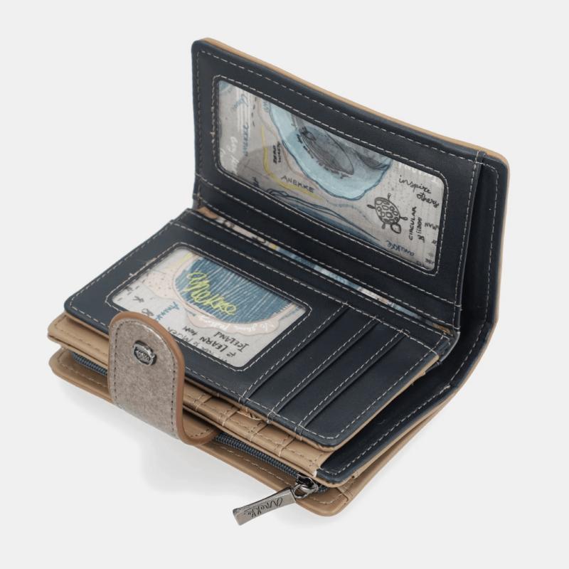 Anekke Iceland pénztárca Patentos 14x10x2 cm 33709-902
