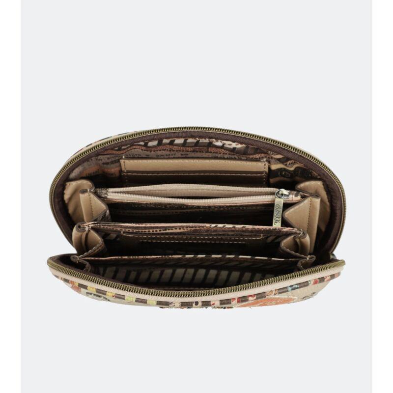 Anekke Kenya Pénztárca Cipzáras 19x12x5 cm
