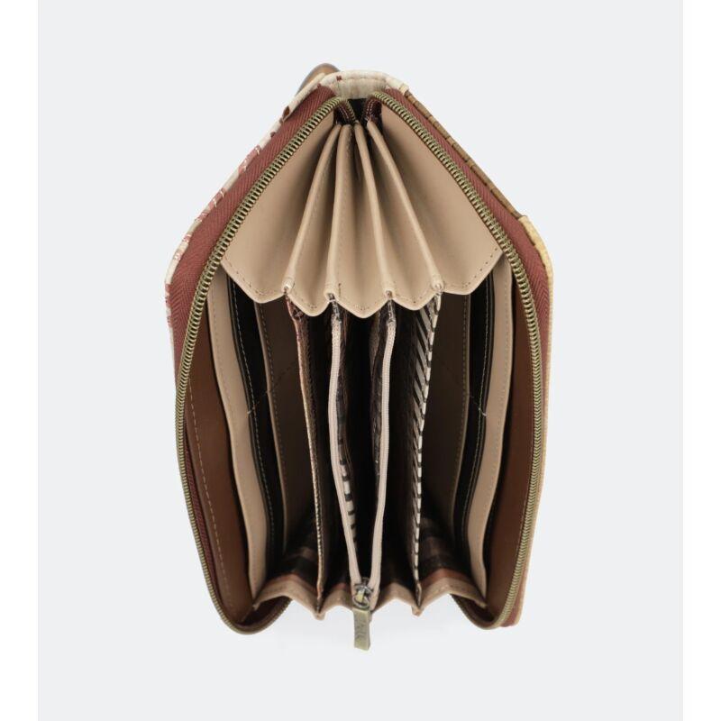 Anekke Kenya Pénztárca Cipzáras 20,5x10x2,5 cm