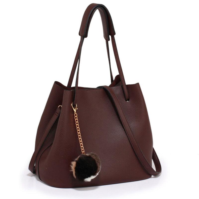 Lisa bevásárlótáska-Burgundy