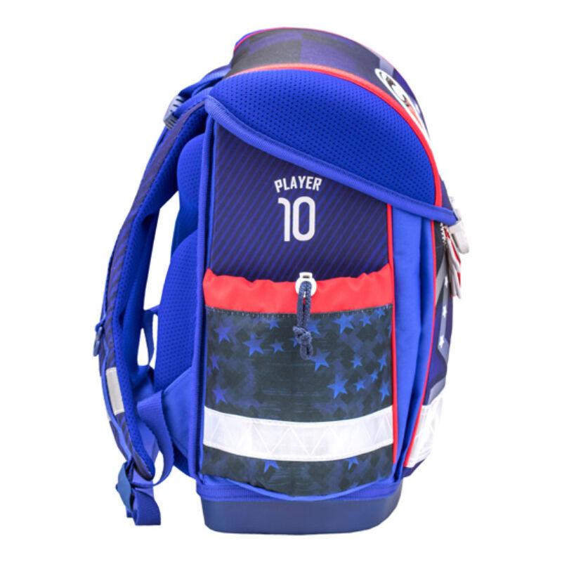 Classy RED-BLUE FOOTBALL iskolatáska 403-13