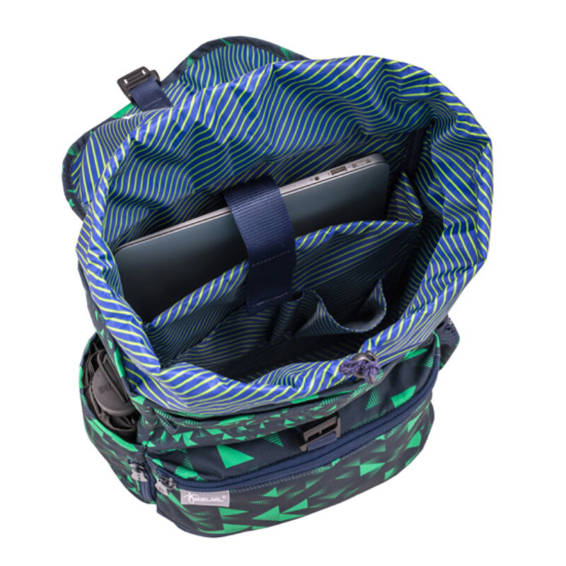 "TRIANGLE GREEN and BLUE ""Pack"" hátitáska 305-12"