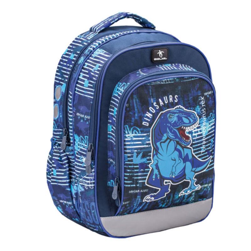 Speddy BLUE DINO merev falú iskolatáska