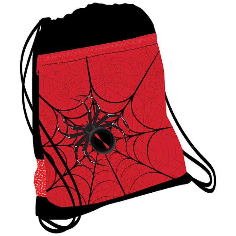 SPIDER RED and BLACK hálós tornazsák 336-91
