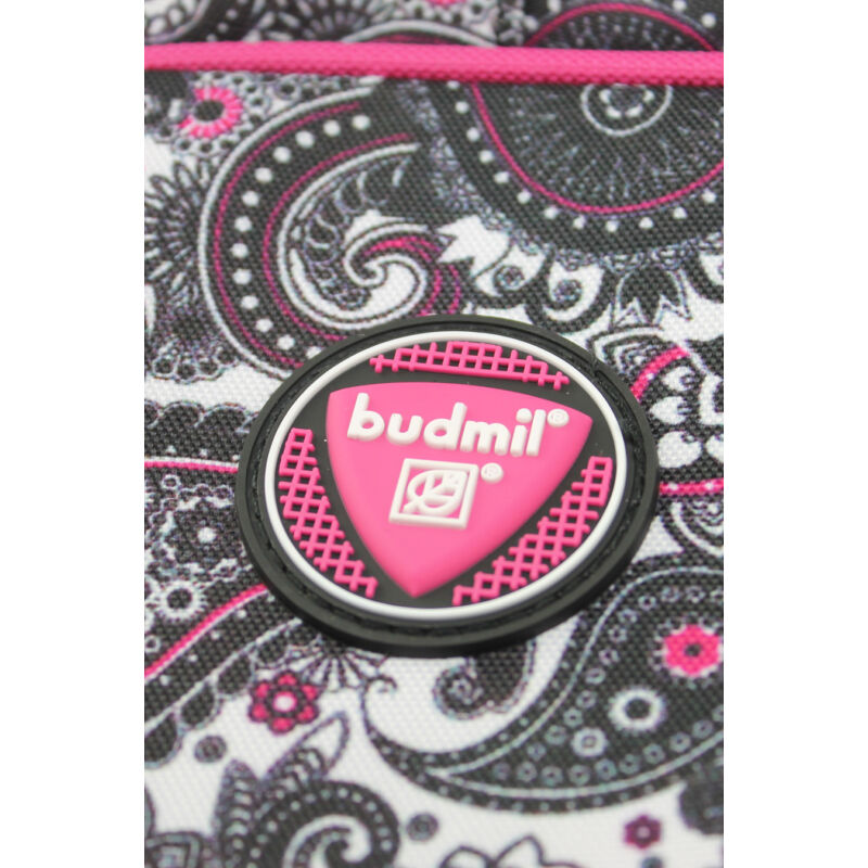 Budmil Hátitáska ovális fekete-pink-3