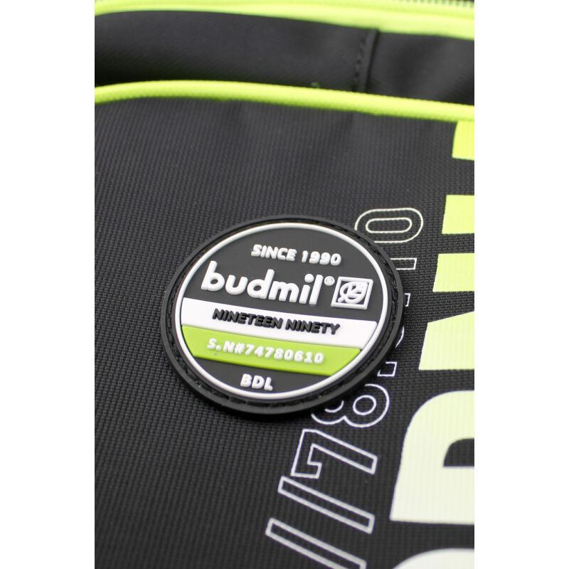 Budmil Hátitáska ovális fekete-zöld-3