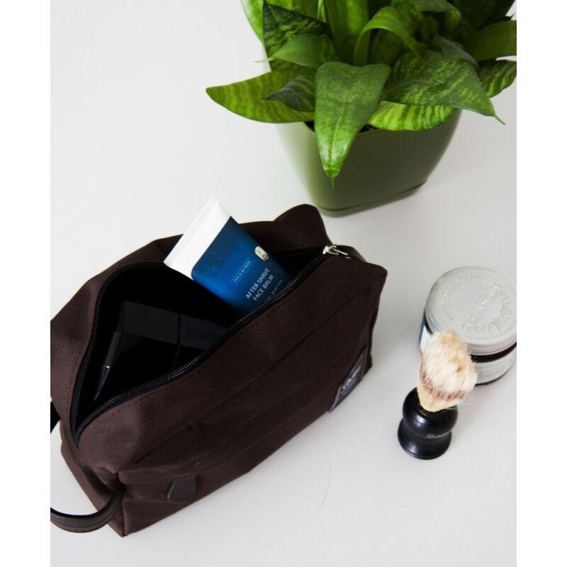 SOLIER SK03 férfi kozmetikai táska barna