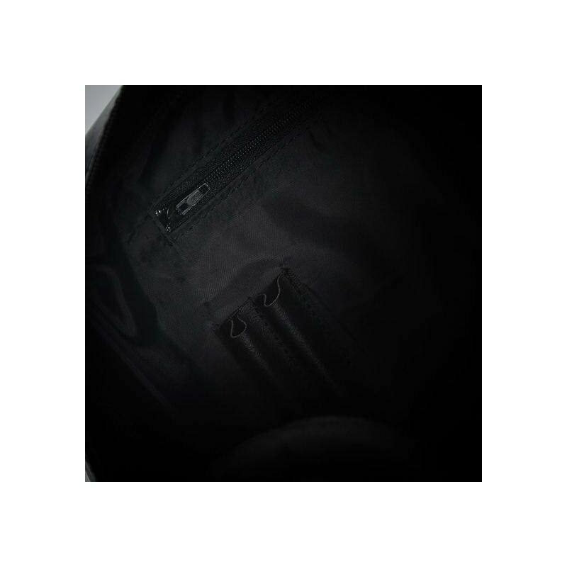 Időtálló Solier SL03 bőr laptoptáska - fekete
