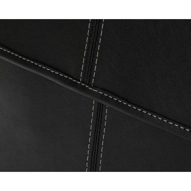Alkalmi Solier S15 férfi válltáska- fekete