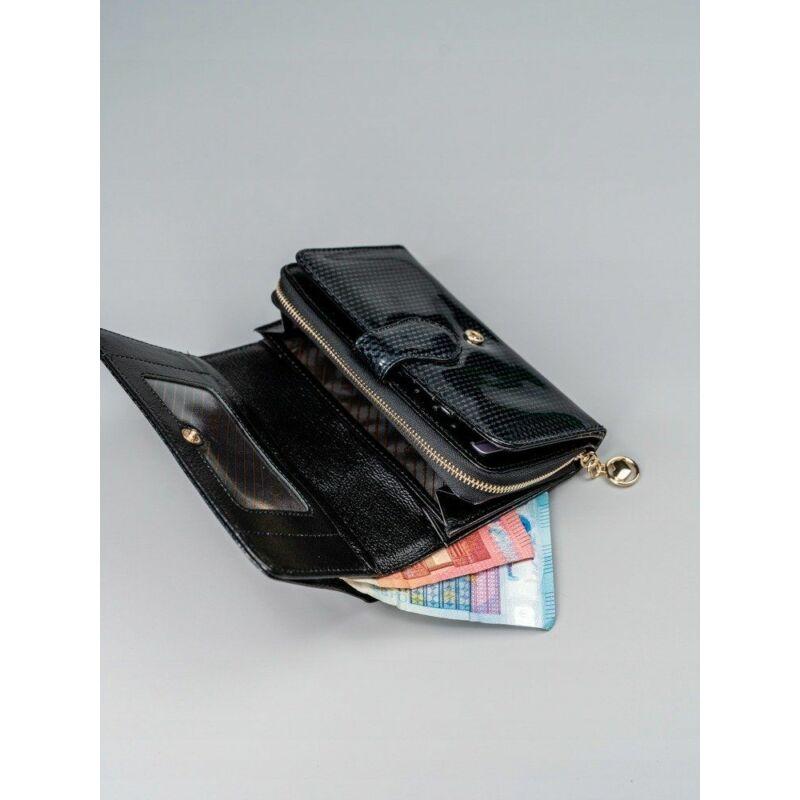 Solier SBR8806 elegáns RFID  női pénztárca -fekete-8