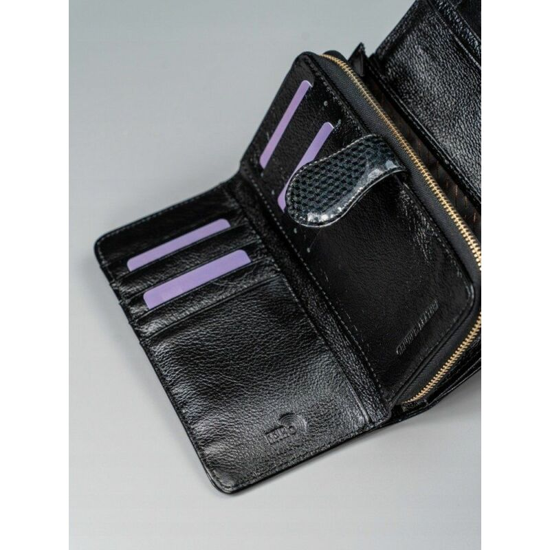 Solier SBR8806 elegáns RFID  női pénztárca -fekete-10