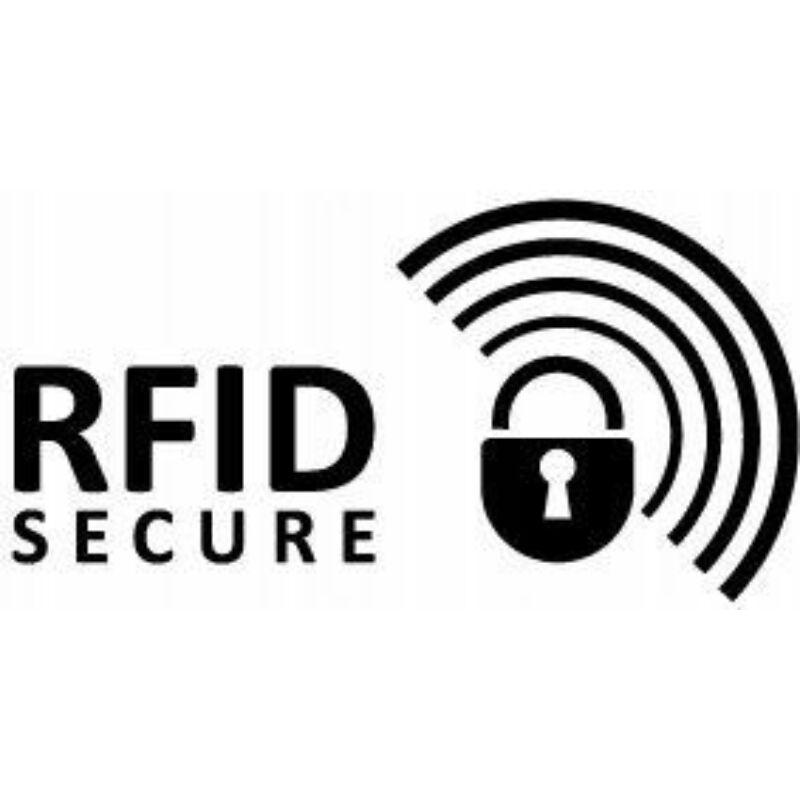 Solier SBR8806 elegáns RFID  női pénztárca -fekete-14
