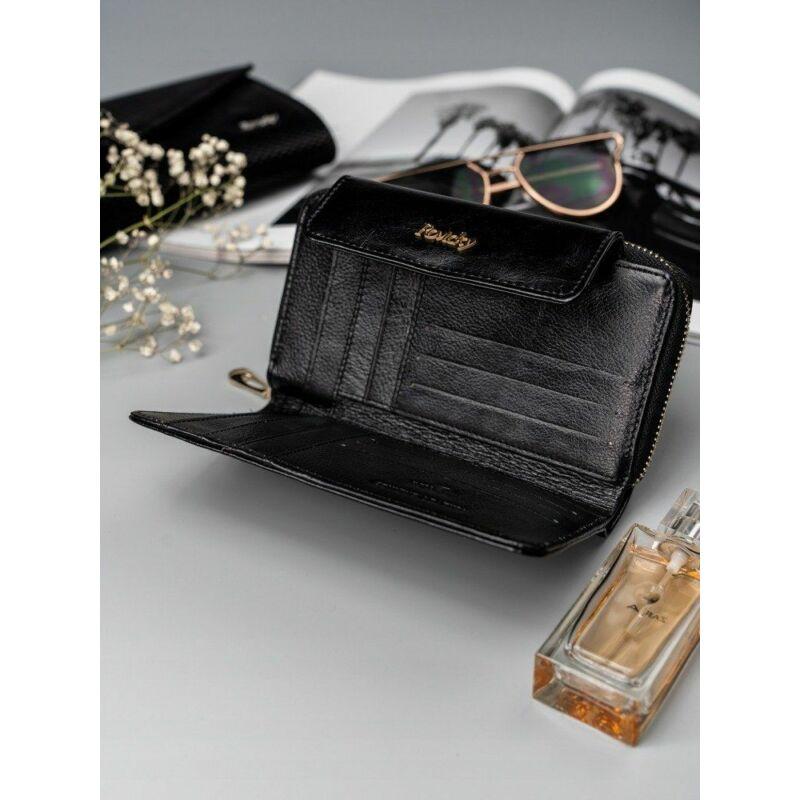 Solier SBR8808 elegáns RFID  női pénztárca -fekete-2