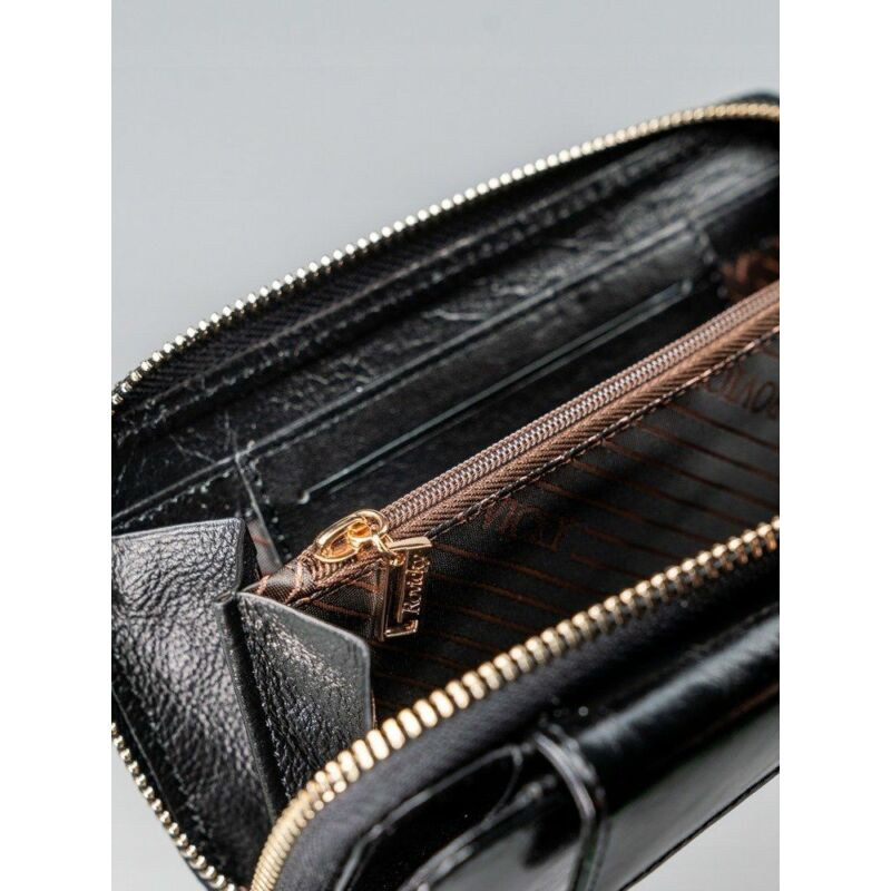 Solier SBR8808 elegáns RFID  női pénztárca -fekete-12