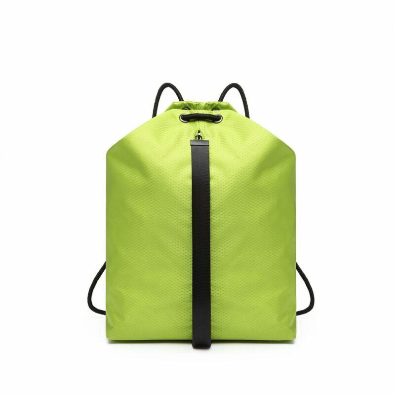 KONO uniszex divatos vízálló hátizsák-zöld