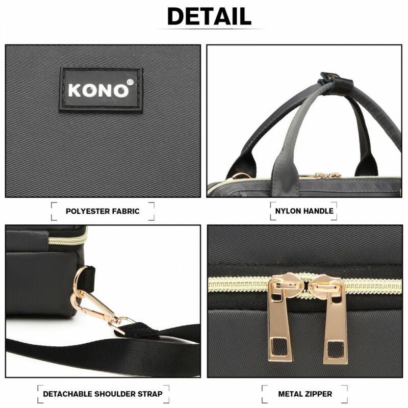 Kono Multifunkciós pelenkázó-piknik táska szürke-5