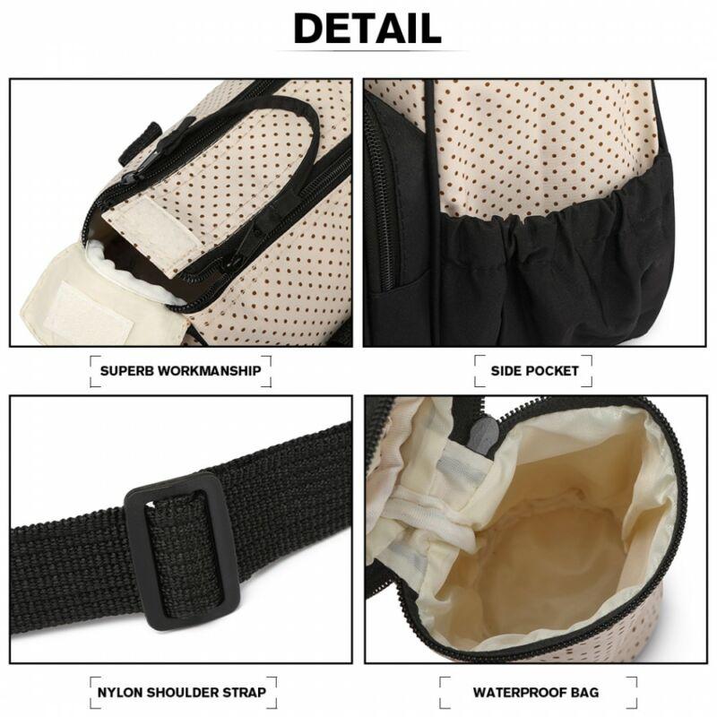 5 db-os babatáska szett: nagy pelenkázó táska rugalmas zsebekkel